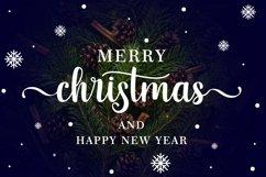 Christmas and Santona | A Beautiful Chirstmas Script Font Product Image 5