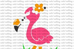 Flamingo, Pink Flamingo, svg, dxf, pdf, jpeg Product Image 2