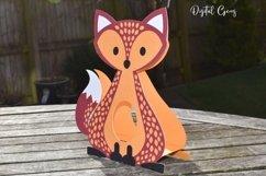 Fox Easter egg holder design SVG / DXF / EPS Product Image 4