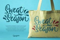 Ressogenia - Cursive Script Font Product Image 3