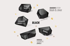 Minimal & Futuristic Jewels Vector Product Image 1