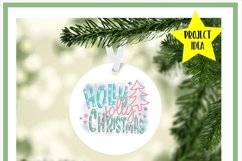 Holly Jolly Christmas Sublimation Product Image 2