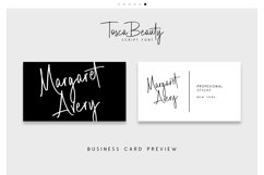 Tosca Beauty Handwritten Font Product Image 4