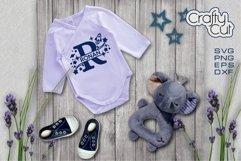 Baby Name Split Monograms - SVG files for Laser cut, Cricut Product Image 6