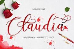 Claudia Script Product Image 1