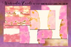 Luxury Gold Watercolor Bundle. Watercolor textures kit, Product Image 6