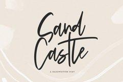 Sandcastle - A Handwritten Script Font Product Image 1