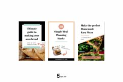 Scroll Stopping Food Blogger Pinterest Pin Pack | Canva Product Image 2