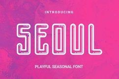 Web Font Seoul Font Product Image 1