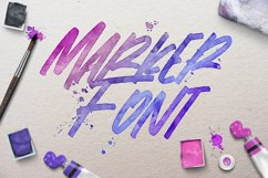 Theorem | Marker Font Product Image 4