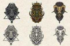 bundles amazing illustration and tatto design symmetrical Product Image 5