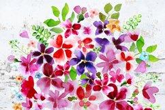Watercolor Bouquet clipart Product Image 3