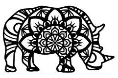 Wild Animal Mandala Bundle SVG Product Image 6