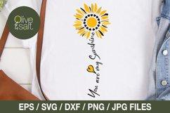 Sunflower svg bundle, sunshine svg bundle, motivational svg Product Image 3