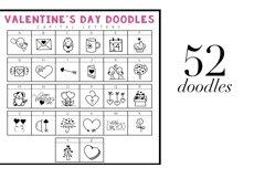 Valentine - Valentine's Day Doodle Font  Product Image 2