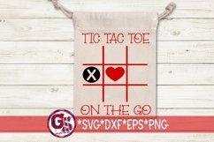 Valentine's Day | Tic Tac Toe Bundle SVG DXF EPS PNG Product Image 2