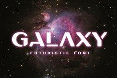 Galaxy - Unique Futuristic Font Product Image 1