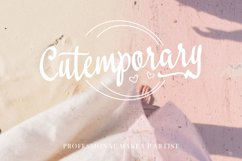 Lovestreet modern calligraphy font Product Image 5