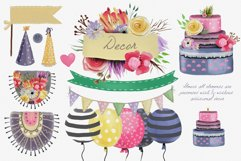 Floral Birthday Llamas Product Image 3