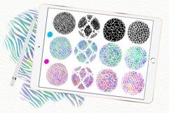 Animal pattern brushes and rainbow brushes for Procreate Product Image 3