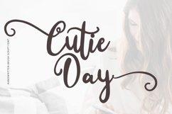 Cutie Day - Cute Script Font Product Image 1