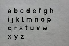 Cut Out Paper | Color Font Product Image 3