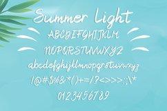 Summer Light Font Product Image 2