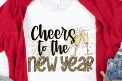 Cheers To The New Year Sublimation Design Product Image 2