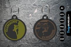 Climbing Keychain Product Image 1