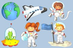 Space Kids Science Clip Art Collection Product Image 2