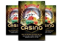 Casino Flyer Template #4 Product Image 1