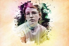 Watercolor Photoshop PSD Template Product Image 6