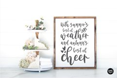 SEPTEMBER BABY a Bold Distressed Farmhouse Font Product Image 3