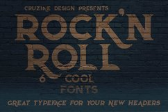 Rock'n Roll Typeface Product Image 2