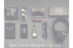 Monogram Hand Lettered Font Product Image 2