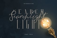 Searchlight - font trio Product Image 1