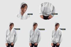 3 Men's Zip Hoodie Mockups Product Image 6