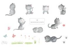 LITTLE KITTEN. Cat clipart Product Image 2