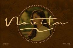 Novita | A Beauty Signature Font Product Image 1
