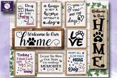 Dog SVG - Dog Lover Bundle - 9 SVG & PNG & 6 bonus PDFs Product Image 1