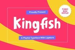 Kingfish - Playful Typeface Product Image 1