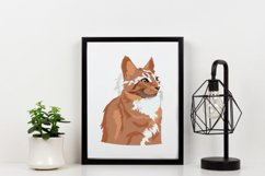 Cat Vector Illustration   Majestic Product Image 2
