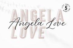 Angela Love Script & Sans Product Image 1