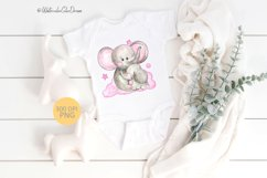 Mom and baby elephant sublimation Product Image 2