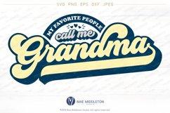 My Favorite People Call Me Grandma Product Image 2