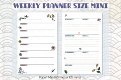 Weekly Planner Organizer | Digital Agenda Mini, Pocket Product Image 4