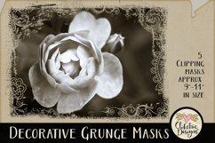 Decorative Grunge Photoshop Clipping Masks & Tutorial Product Image 1