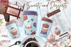 Sweets and desserts. Mini-set 3 Product Image 3