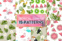 Tropical summer patterns Product Image 1