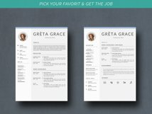 Creative Resume Template CV Product Image 4